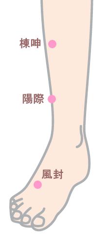 花粉症のツボ_脚