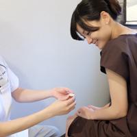 シール鍼の説明