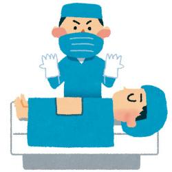 外科医の手術イメージ