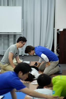 活法研究会_整体入門セミナー受講風景_2015年7月5日