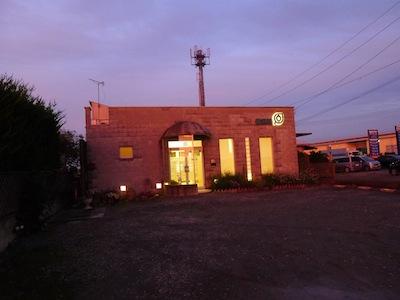 夕暮れの養気院