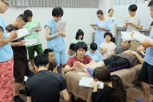 整動鍼(臨床実践編)_セミナーの様子(2016年7月24~25)_01