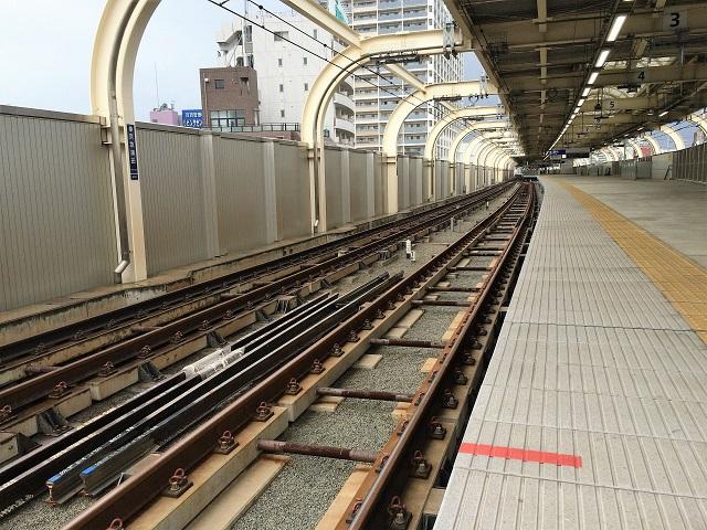 京急蒲田駅_ホーム