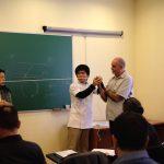 スペイン講師日記・秋澤編(6)「セミナー2日目/ピン校長の興味がMAX」の詳細へ